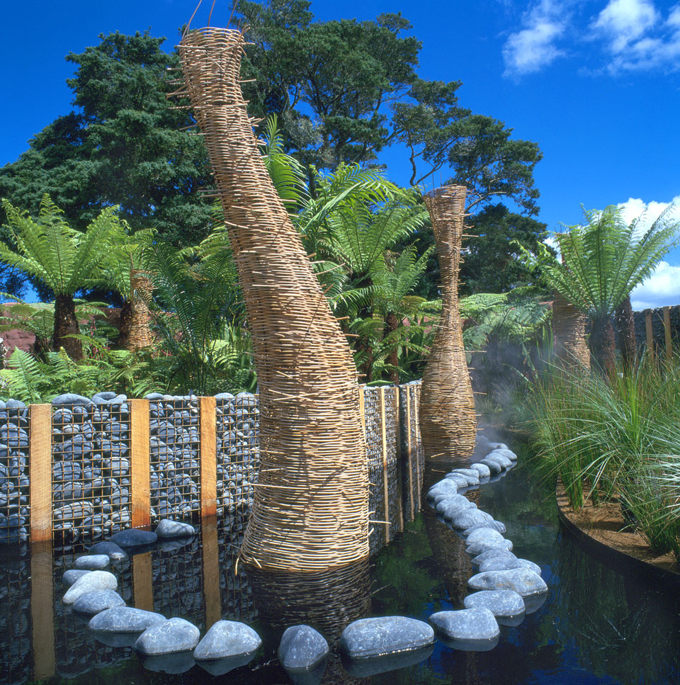 Show garden landscape design garden care services and for Landscape design ideas nz