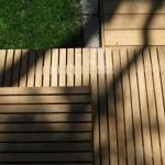 Architectural hardwood steps