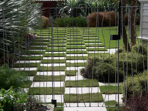 Fences gates landscape design garden care services for Landscaping companies in new zealand
