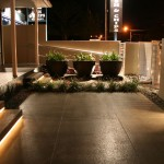 Restaurant outdoor lighting
