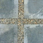 Bluestone tiles with StoneSet permeable insert