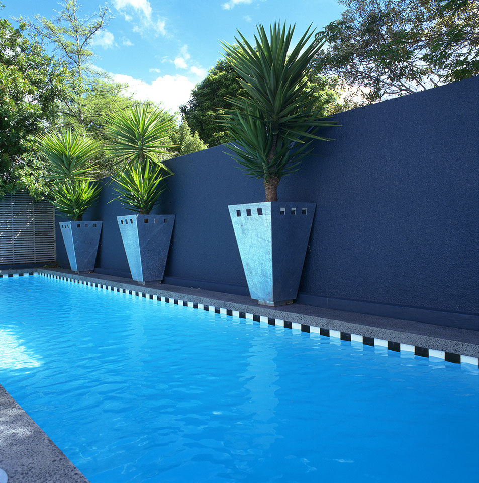 Pools water features landscape design garden care for Pool design nz