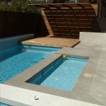Pool, paddling pool and spa