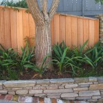 Schist stone planter