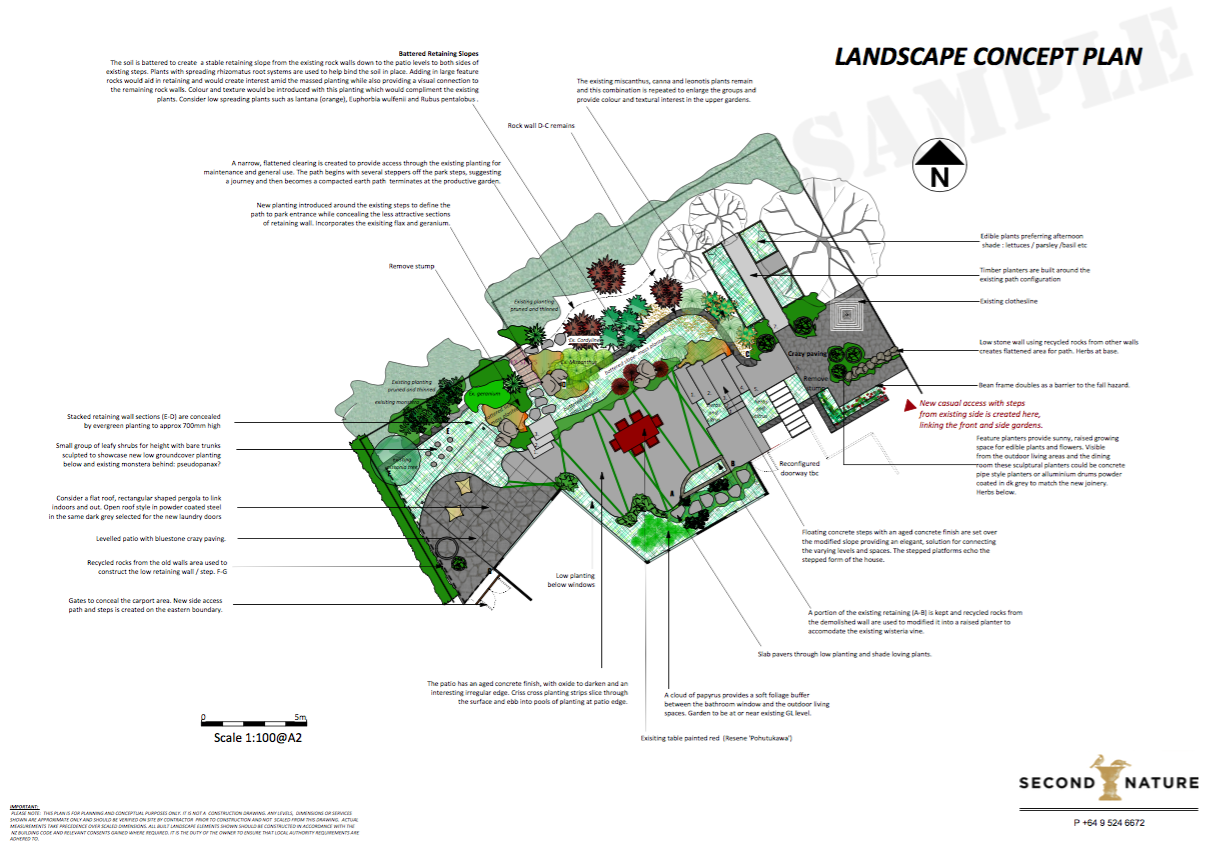 Planting Plans Landscape Design Garden Care Services And Gardening Maintenance With Auckland