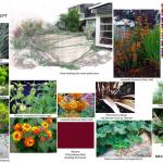 Planting plan, visual design