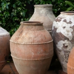 Authentic Turkish oil jars