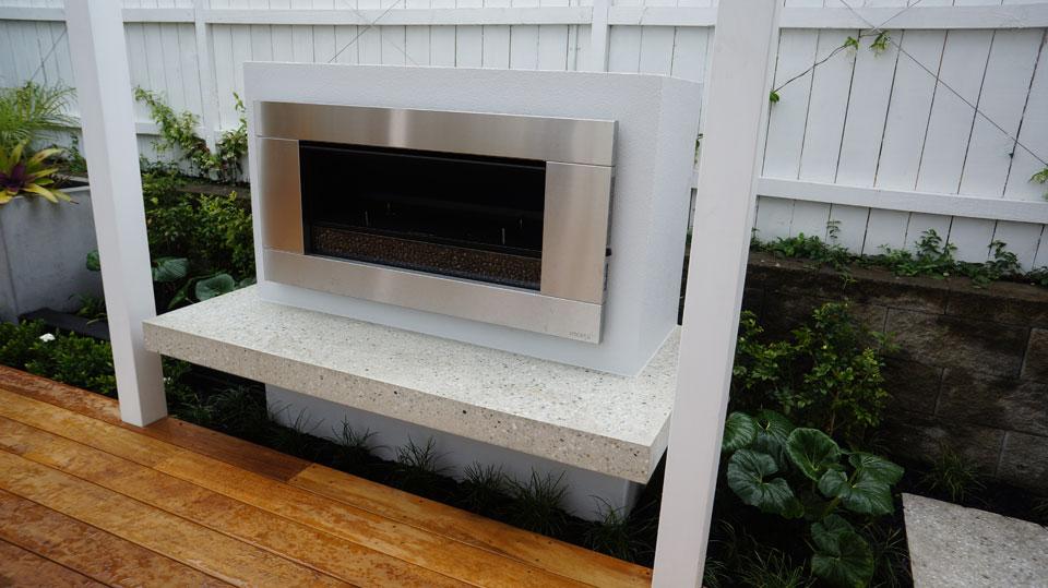 Surprising Gas Fire With Polished Concrete Hearth Landscape Design Download Free Architecture Designs Scobabritishbridgeorg