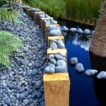 Details from a show garden