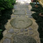 Random stone path