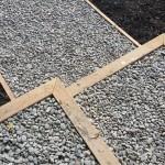 Totara and pebble infill steps