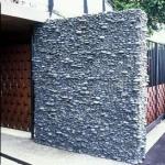 Riverstone wall