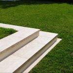 Travertine steps