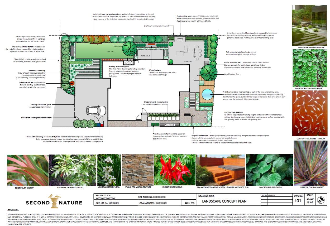 Planting plans - Landscape design, garden care services ...