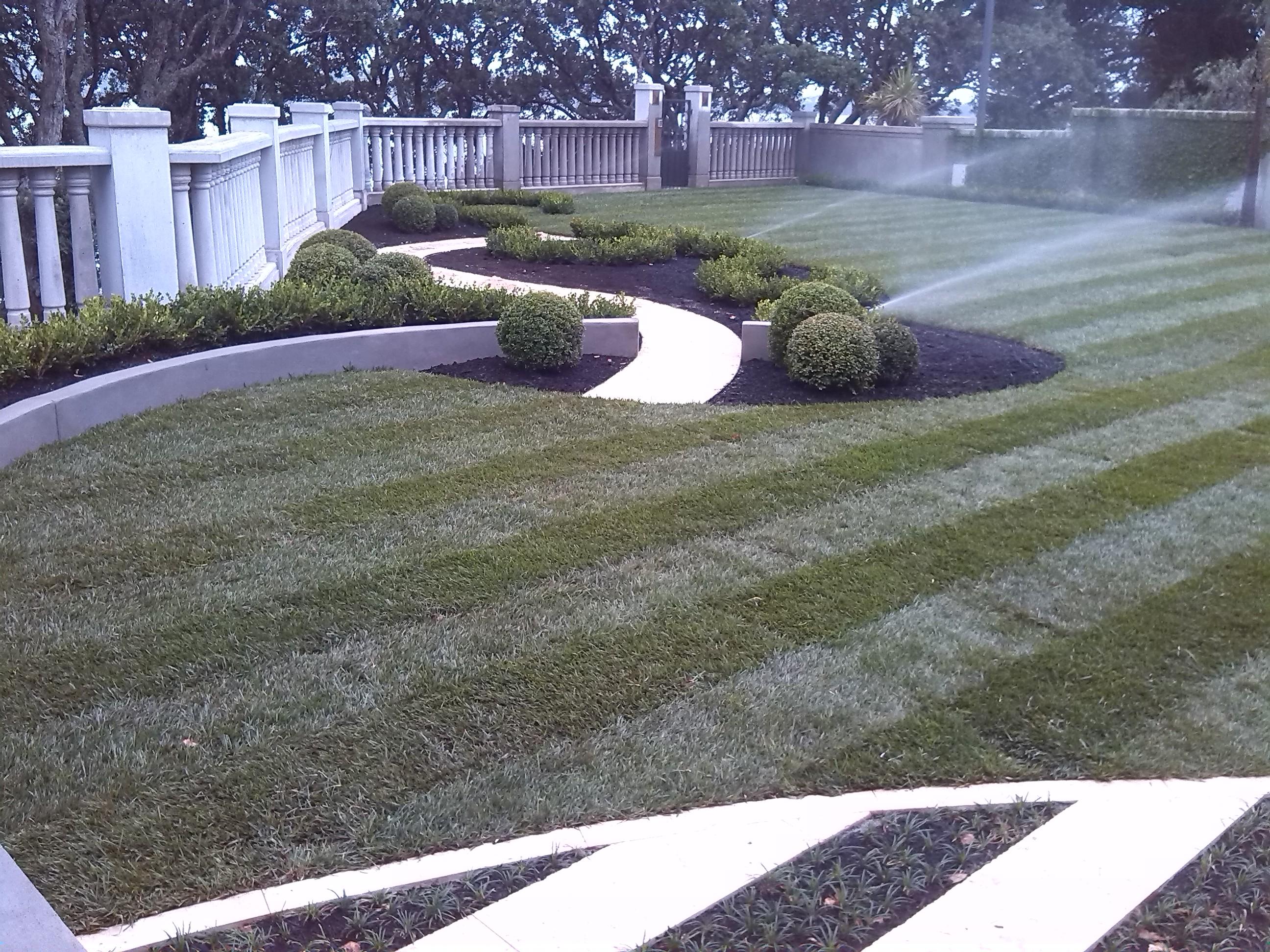 Irrigation Sprinklers Lawn