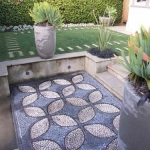Courtyard garden design